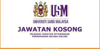 Iklan kerjaya Universiti Sains Malaysia