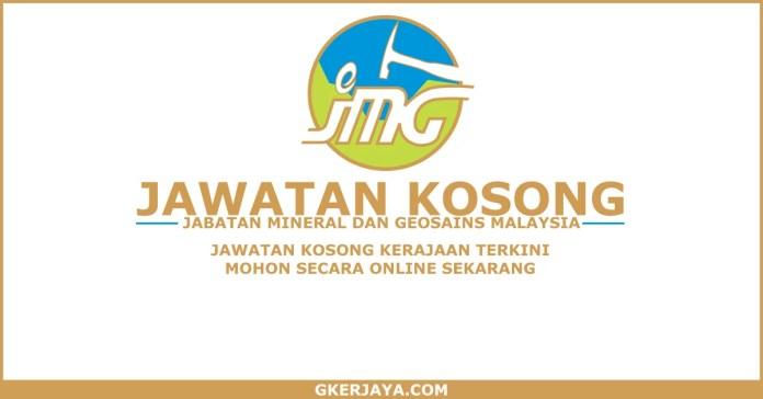 Peluang Kerjaya Terkini Jabatan Mineral dan Geosains Malaysia