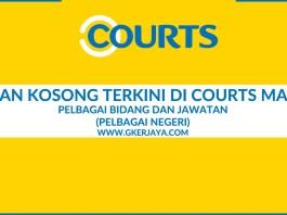 Jawatan Kosong Courts Malaysia Pelbagai Jawatan