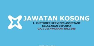 Jawatan Kosong Customer Service Assistant eXtracc
