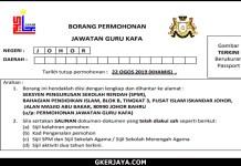 Jawatan Kosong Guru KAFA JAKIM Johor 2
