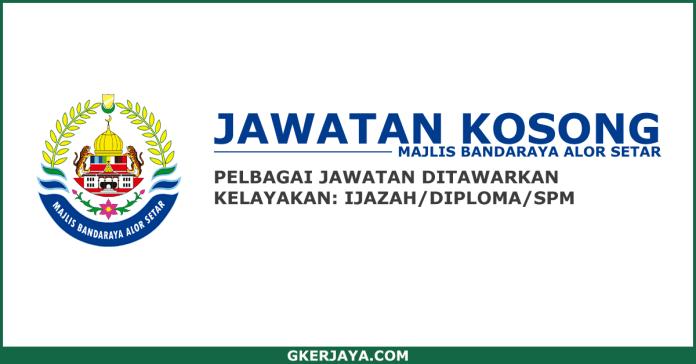 Jawatan Kosong Kerajaan Negeri Kedah MBAS