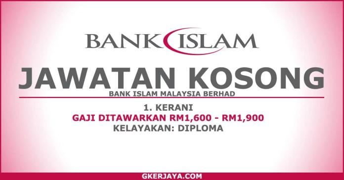 Jawatan Kosong Kerani Bank