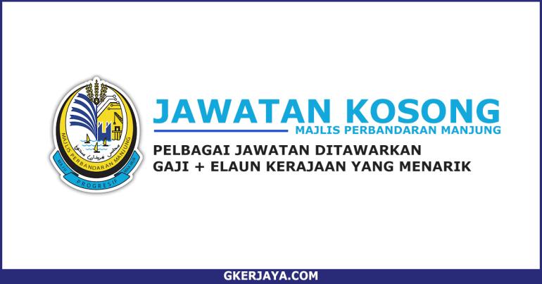 Jawatan Kosong Majlis Perbandaran Manjung (1)