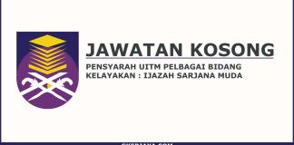 Jawatan Kosong Pensyarah UiTM Cawangan Melaka