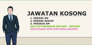 Jawatan Kosong Terkini Soubiya Malaysia Sdn Bhd