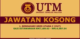 Jawatan Kosong Universiti Teknologi Malaysia Terkini