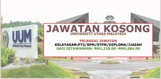 Jawatan Kosong Universiti Utara Malaysia Pengambilan Terkini