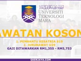 Jawatan Kosong terkini di UiTM Sarawak