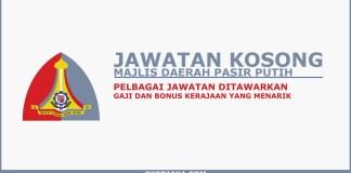 Jawatan kosong terkini Kerajaan Majlis Daerah Pasir Puteh