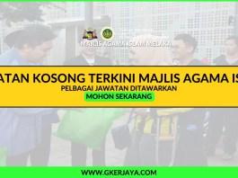 Jawatan kosong terkini Majlis Agama Islam Melaka