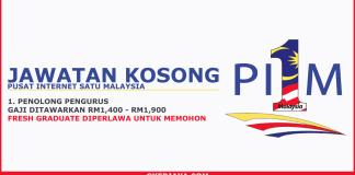 Jawatan kosong terkini di Pusat Internet 1 Malaysia