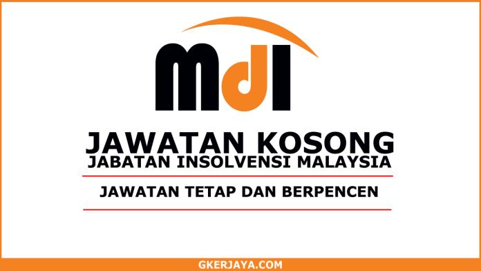 Kerja Kosong Jabatan Insolvensi Malaysia