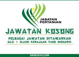 Kerja Kosong Jabatan Pertanian Malaysia