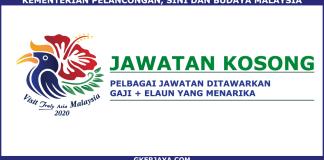 Kerja Kosong Kementerian Pelancongan Malaysia