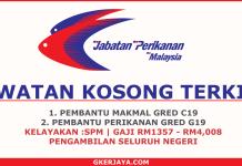 Kerja Kosong Kerajaan Jabatan Perikanan Malaysia
