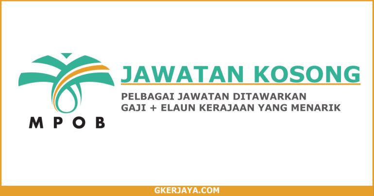 Kerja Kosong Terkini Lembaga Minyak Sawit Malaysia (1)