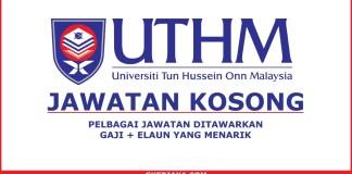 Kerja Kosong Terkini Universiti Tun Hussein Onn Malaysia