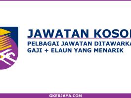 Kerja Kosong Terkini di UiTM Cawangan Johor