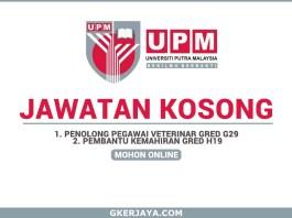 Kerja Kosong Universiti Putra Malaysia Sarawak