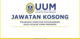 Kerja Kosong Universiti Utara Malaysia Pentadbiran
