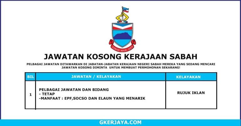 Kerja Terkini Kerajaan Negeri Sabah (1)