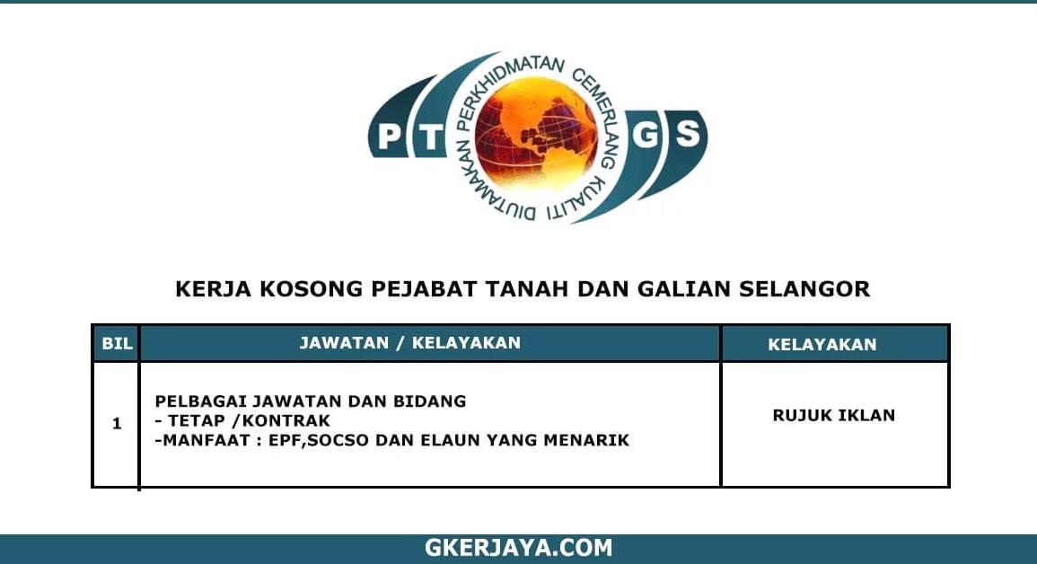 Kerja Terkini Pejabat Tanah dan Galian Negeri Selangor (1)