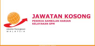 Kerja kosong Jabatan Perangkaan Sarawak