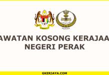 Kerja kosong Kerajaan Negeri Perak