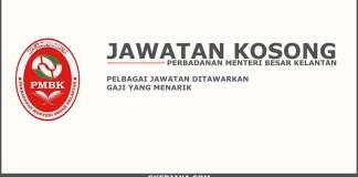 Kerja kosong Perbadanan Menteri Besar Kelantan