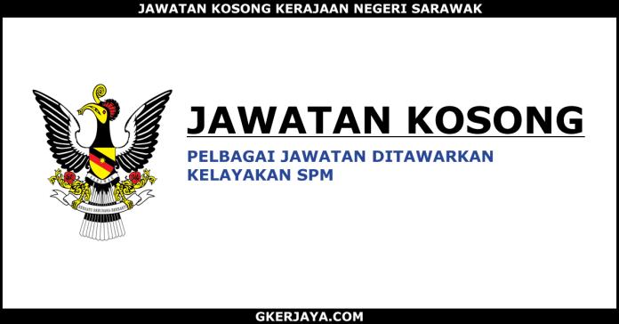 Kerja kosong kerajaan di Sarawak
