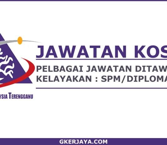 Kerja kosong terkini Universiti Malaysia Terengganu