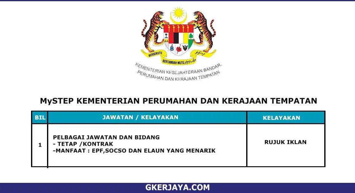 MySTEP Kementerian Perumahan dan Kerajaan Tempatan (1)