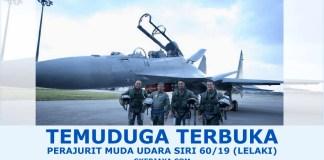 Peluang kerjaya Tentera Udara Diraja Malaysia