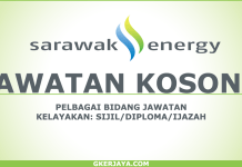 Peluang kerjaya di Sarawak Energy