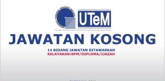Peluang kerjaya terkini Universiti Teknikal Malaysia Melaka