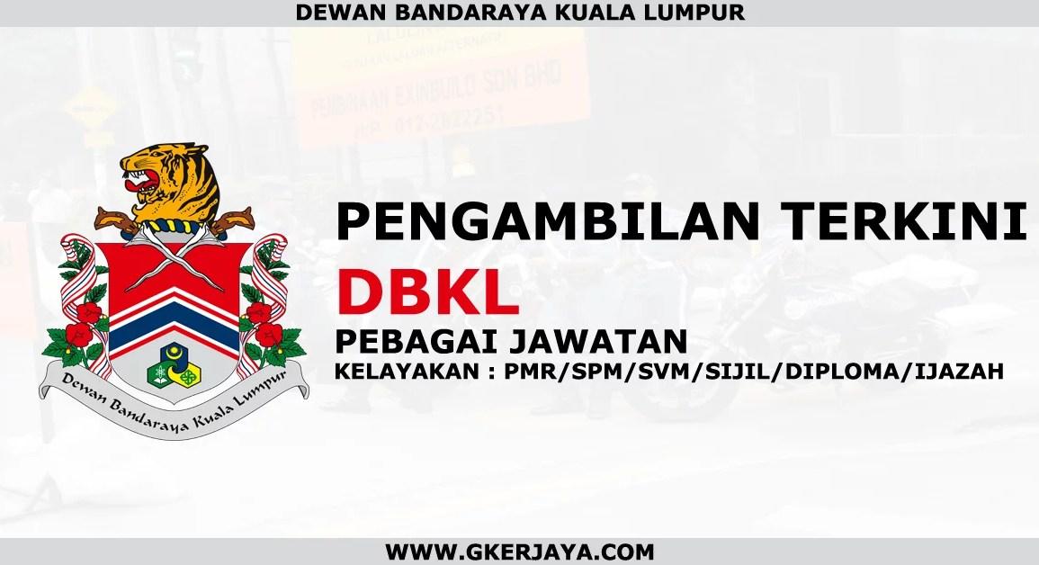 Peluang kerjaya terkini di DBKL
