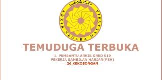 Temuduga Pengambilan PSH di Arkib Negara Malaysia