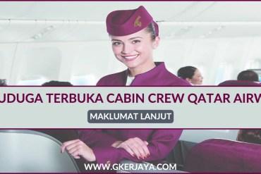Temuduga Terbuka Cabin Crew Qatar Airways