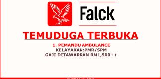 Temuduga Terbuka Pemandu Ambulance