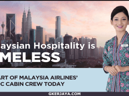 Temuduga terbuka Cabin Crew Malaysia Airlines 2018