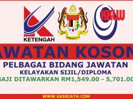iklan kerjaya Lembaga Kemajuan Terengganu Tengah
