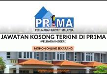 perbadanan prima malaysia jawatan kosong 2016