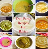 Fruit Puree Recipes for Babies - GKFoodDiary - Homemade ...