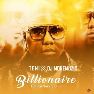 [Music] Teni & DJ Moremuzic – Billionaire (Dance Version) 2