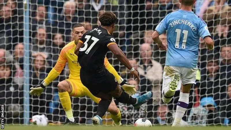 Adama Traoré score Brace as City get a Shocking Defeat at Etihad stadium (0 -2 ) 1