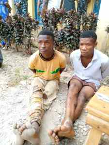 Osun Police Parade Kidnappers Who Killed & Dumped Bodies Of 2 Teenagers (Photo) 2