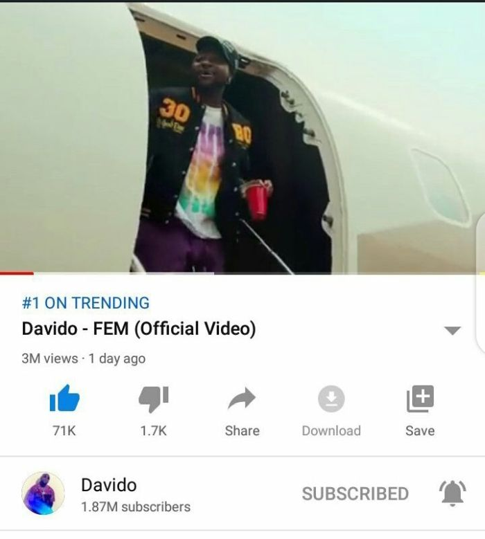 Is This A Valid Proof That Davido Is Bigger Than Wizkid & Burna Boy Combined? (GET IN HERE) 3