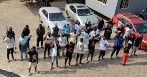 Over 30 Suspected Internet Fraudsters Land In EFCC Net Following Massive Raid In Ogun State 2
