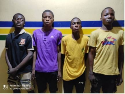 BUSTED!! Four Boys Who Gang-Raped Girl Arrested By Police In Lagos (Photo) 4